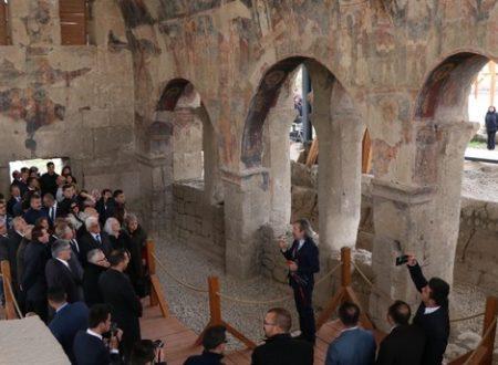 La chiesa bizantina dei SS. Costantino ed Elena