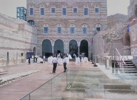 Il palazzo bizantino del Porfirogenito restaurato