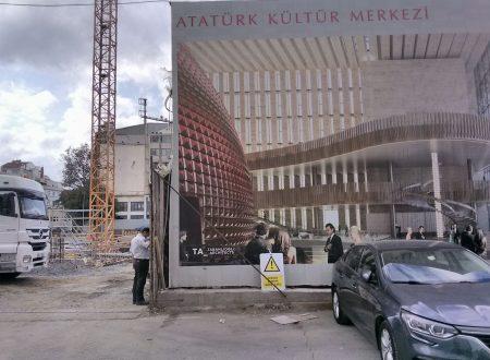 Il nuovo centro culturale AKM in costruzione