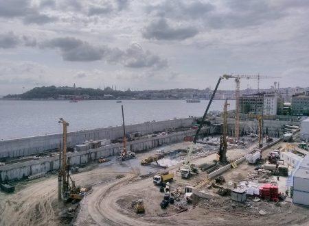 L'Istanbul Modern di Renzo Piano in costruzione
