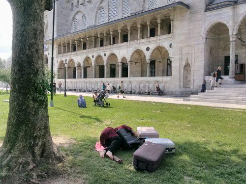 Dormire nella moschea di Solimano