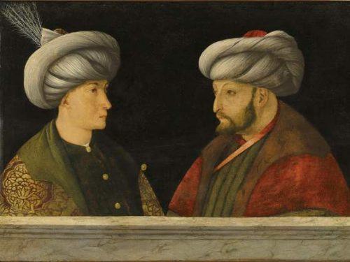 Gentile Bellini, Maometto II e Istanbul