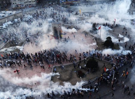 La mappa delle proteste a Istanbul