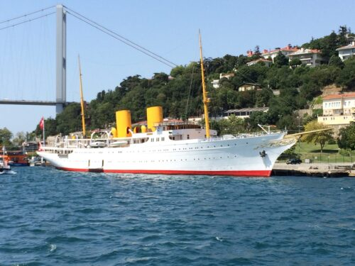 Savarona, lo yacht di Atatürk