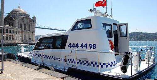 Guida ai trasporti di Istanbul, i taxi del mare (deniz taksi)