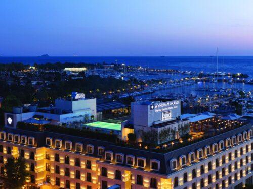 Gli alberghi di Istanbul, il Wyndham Kalamış Marina