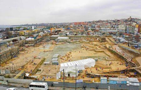Yenikapı, la stazione archeologica di Istanbul