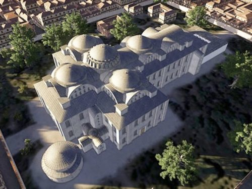 I Santi Apostoli di Costantinopoli, monumento perduto