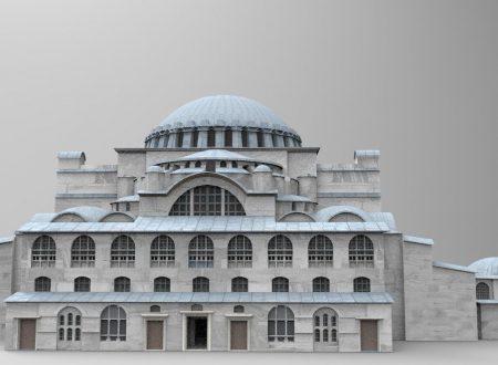 Hagia Sophia era una volta tutta bianca