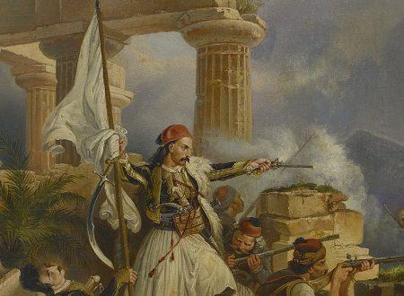 1821, filellenismo antiquario e indipendenza greca