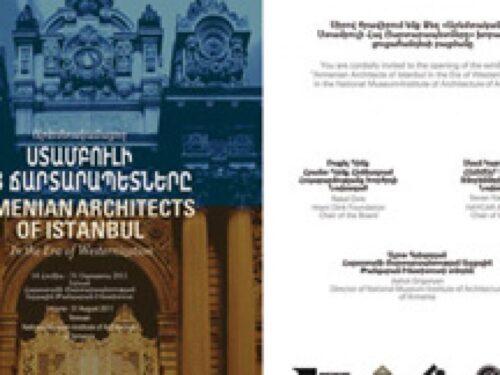 Gli architetti armeni di Istanbul