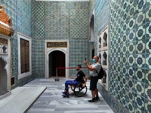 L'harem del palazzo ottomano di Topkapı (restauri 2020)