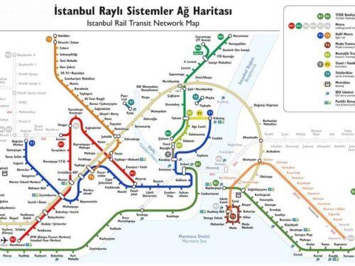 Il nuovo sistema dei trasporti di Istanbul