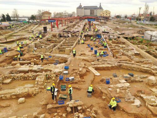 Scoperte archeologiche nella stazione di Calcedonia