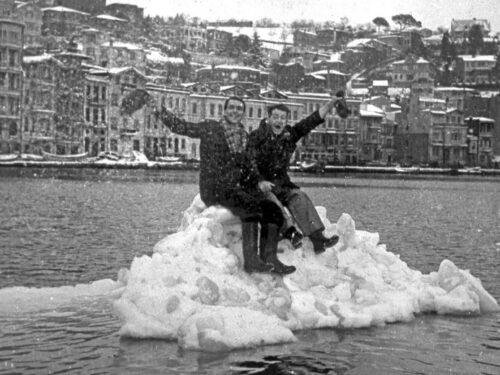 Galatasaray-Juventus, la neve a Istanbul e il Bosforo ghiacciato (nel 1954)