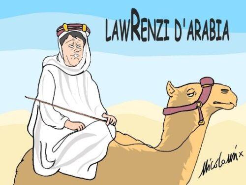 Renzi d'Arabia, Khashoggi e la Turchia
