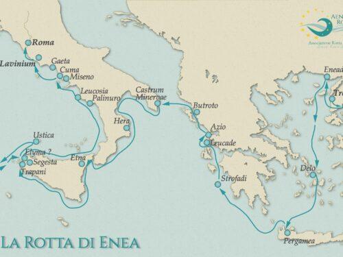 La Rotta di Enea, da Troia all'Italia