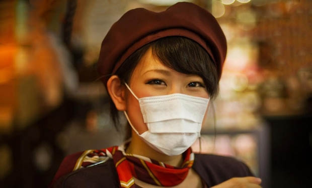 Japonesa-mascara